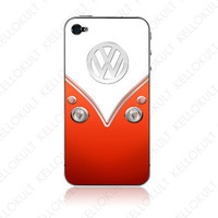 iPhone 4 VDov Red by kellokult on Etsy