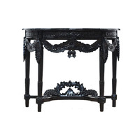Small Side Table- Black