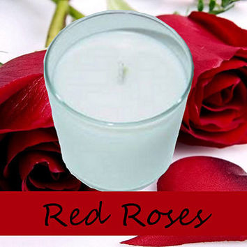 Red Rose Scented Candle in Tumbler 13 oz