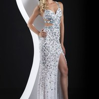 2015 Jasz Couture Side Cut Outs Prom Dress 4109D