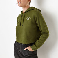 Young and Reckless Cropped Pullover Hoodie at PacSun.com