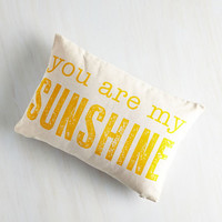 Sayings Light Up the Living Room Pillow by ModCloth