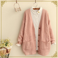 Buy Fairyland Cable Knit Cardigan | YesStyle
