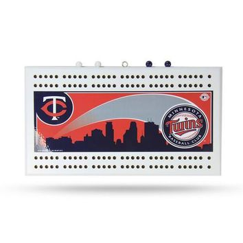 Minnesota Twins MLB Cribbage Board