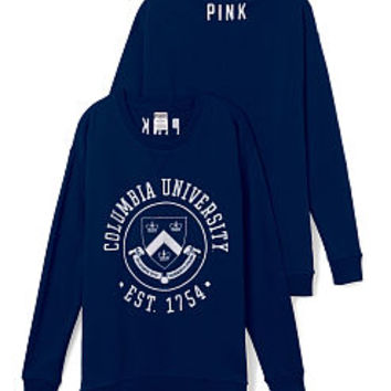 Columbia University Boyfriend Crew - PINK - Victoria's Secret