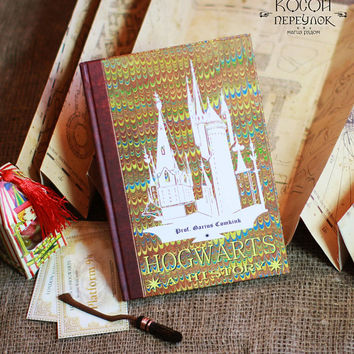 "The book "" HOGWARTS: A HISTORY"" from ""Harry Potter"""