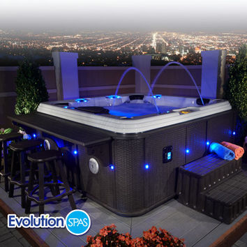Evolution Spas™ Casablanca EX 110-jet, 6-person Spa