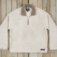 Southern Marsh Appalachian Pile Pullover- Oatmeal