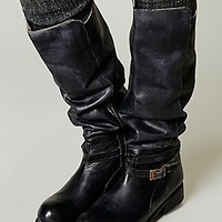 Bed|St  Womens Bonnor Tall Boot - Black Rustic,