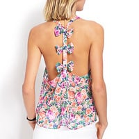 Floral Bow Tank