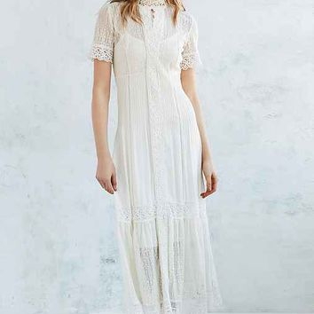 Bardot Valentina Victoria Lace Maxi Dress