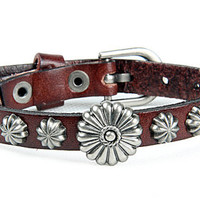 Fashion Punk  Rivets Adjustable Leather Wristband Cuff Bracelet - Great for Men, Women, Teens, Boys, Girls 2712s