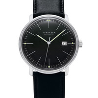 Max Bill by Junghans Automatic Black Watch with Date