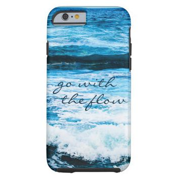 """""""Go"""" Hawaii turquoise waves photo cell phone case"""