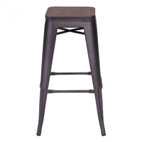 San Francisco Bar Stool - Wood