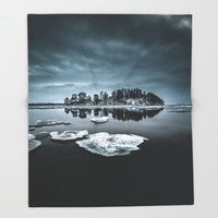 Only pieces left Throw Blanket by happymelvin
