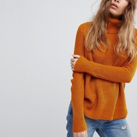 JDY Roll Neck Jumper at asos.com