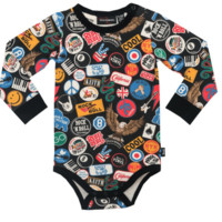 RYB Vintage Patches Onesuit