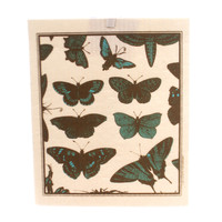 Swedish Dish Cloth Butterflies Decorative Towel