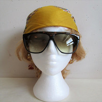 Vintage 80s Black Sunglasses LAURA BIAGIOTTI Copper Marble 1980s Designer Eyewear Made in Italy