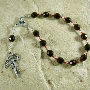 Lilith Pocket Prayer Beads: Sumerian/Babylonian Goddess of Fertility and Free Will.
