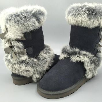 Women's UGG snow boots warm cotton shoes _1686248855-354