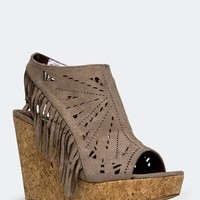 FRINGE DELIGHT WEDGE