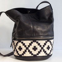 PORTEÑO BUCKET BAG by hare+hart for Of a Kind