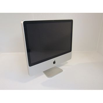 Apple iMac 7.1 20 Inch All In One Computer 500GB HD 2GHz Intel Core 2 Duo A1224 -- Used