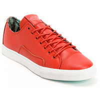 Diamond Supply Co. Brilliant Low Red & Mint Lamb Skin Skate Shoe at Zumiez : PDP