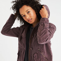 AE Military Parka , Purple