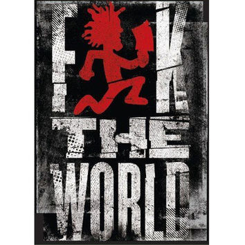 ICP FK The World 45x60 Microfiber Blanket - Free Shipping in the Continental US!