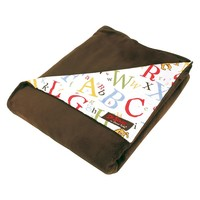 Dr. Seuss ''abc'' Receiving Blanket by Trend Lab (Brown)
