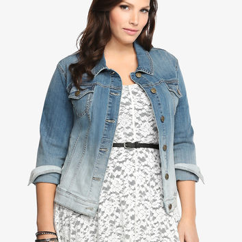 Torrid Ombré Denim Jacket