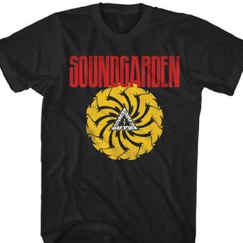 Soundgarden T-shirt - Badmotorfinger Album Cover Artwork | Men's Black Vintage Shirt