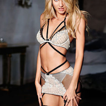 Limited Edition Lace & Mesh Garter Skirt - Very Sexy - Victoria's Secret