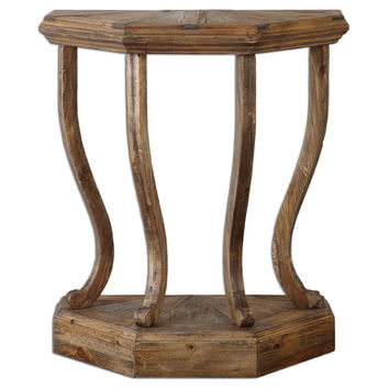 Uttermost 24373 Icess Reclaimed Fir Wood Console Table