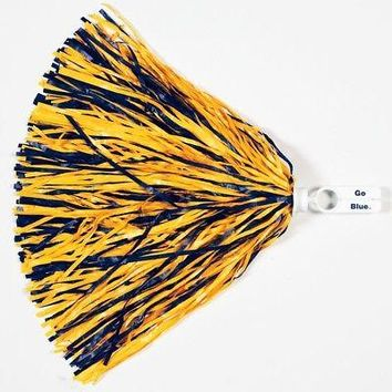 Licensed Michigan Wolverines Official NCAA 500 Strand Cheer Pom Pom Michigan by Wincraft KO_19_1