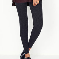 Ribbed Legging - A Kiss of Cashmere - Victoria's Secret