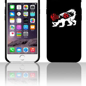 Punk Honey Badger 5 5s 6 6plus phone cases