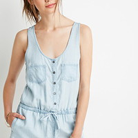Chambray Utility Romper