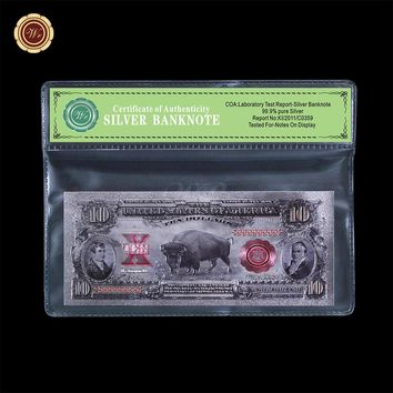 99.9 % Silver Foil Banknote
