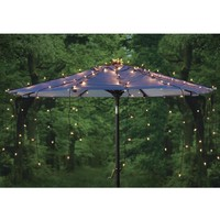 Waterfall Umbrella Canopy Light Cover - Plow & Hearth