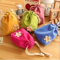 OUGOLD 2017 cheap Cute  Plush Coin Purse Children  Change Wallet   Women Minions Kids Girl  For Gift key packet 5 Candy color