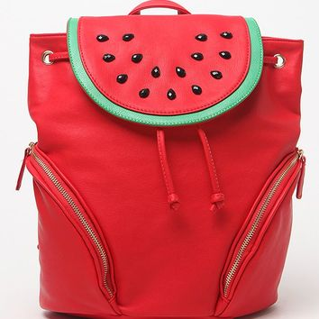Nila Anthony Watermelon School Backpack - Womens Handbags - Watermelon - One