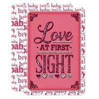 Baby Girl Love At First Sight JOURNAL CARD