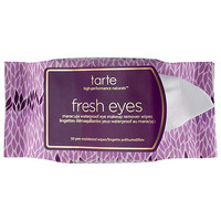 Fresh Eyes Maracuja Waterproof Eye Makeup Remover Wipes - tarte | Sephora