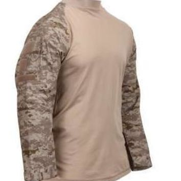 Rothco Tactical Airsoft Desert Digital Camo Combat Shirt