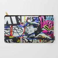 grafiti v.5 Carry-All Pouch by Trebam | Society6