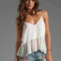DV by Dolce Vita  Bretta Powwow Tank in White from REVOLVEclothing.com